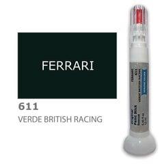Карандаш-корректор для устранения царапин FERRARI 611 - VERDE BRITISH RACING 12 ml цена и информация | Автомобильная краска | pigu.lt