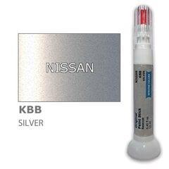 Карандаш-корректор для устранения царапин NISSAN KBB - SILVER 12 ml цена и информация | Автомобильная краска | pigu.lt