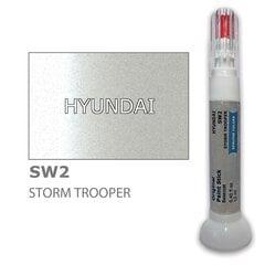 Dažų korektorius įbrėžimų taisymui HYUNDAI SW2 - STORM TROOPER 12 ml kaina ir informacija | Automobiliniai dažai | pigu.lt