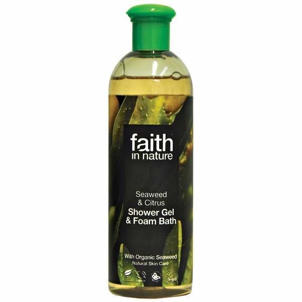 Dušo gelis Faith in Nature Seaweed 400 ml kaina ir informacija | Dušo želė, muilas | pigu.lt