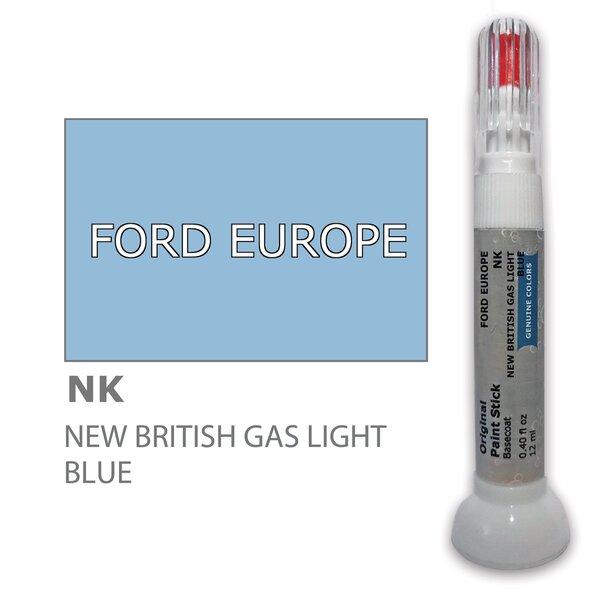 Карандаш-корректор для устранения царапин FORD EUROPE NK - NEW BRITISH GAS LIGHT BLUE 12 ml