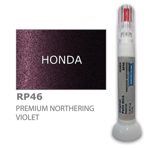 Dažų korektorius įbrėžimų taisymui HONDA RP46 - PREMIUM NORTHERING VIOLET 12 ml kaina ir informacija | Automobiliniai dažai | pigu.lt