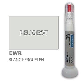 Карандаш-корректор для устранения царапин PEUGEOT EWR - BLANC KERGUELEN 12 ml цена и информация | Автомобильная краска | pigu.lt