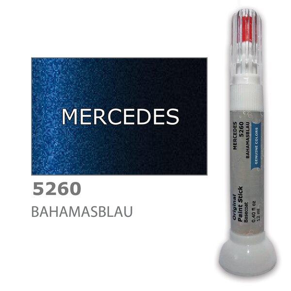 Dažų korektorius įbrėžimų taisymui MERCEDES 5260 - BAHAMASBLAU 12 ml kaina ir informacija | Automobiliniai dažai | pigu.lt