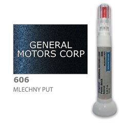 Карандаш-корректор для устранения царапин GENERAL MOTORS CORP 606 - MLECHNY PUT 12 ml цена и информация   Автомобильная краска   pigu.lt