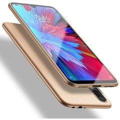 X-Level Guardian skirtas Xiaomi Mi 8 Lite, auksinis kaina ir informacija | Telefono dėklai | pigu.lt