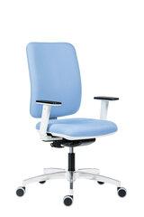 Biuro kėdė Wood Garden 1980 BLUR, mėlyna/balta kaina ir informacija | Biuro kėdės | pigu.lt