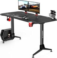 Žaidimų stalas Ultradesk Grand White, juodas/baltas kaina ir informacija | Žaidimų stalas Ultradesk Grand White, juodas/baltas | pigu.lt