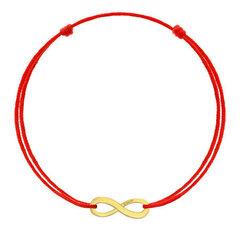 Raudona apyrankė Kabala Infinity kaina ir informacija | Apyrankės moterims | pigu.lt