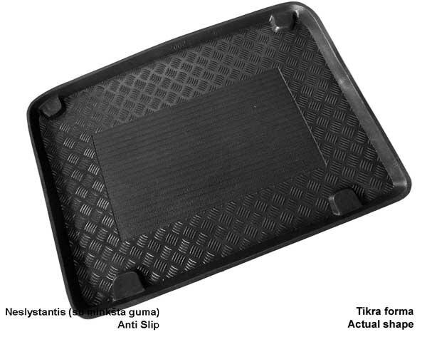 Bagažinės kilimėlis Renault Scenic I 5s. su grotel. 96-2003 /25005 kaina ir informacija | Modeliniai bagažinių kilimėliai | pigu.lt