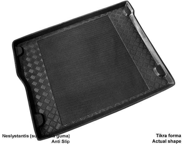 Bagažinės kilimėlis Renault Scenic III 2009-> /25024 kaina ir informacija | Modeliniai bagažinių kilimėliai | pigu.lt