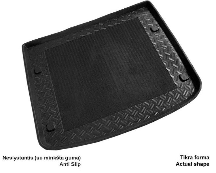 Bagažinės kilimėlis Volkswagen Caddy 5d. 2004-> /30003 kaina ir informacija | Modeliniai bagažinių kilimėliai | pigu.lt