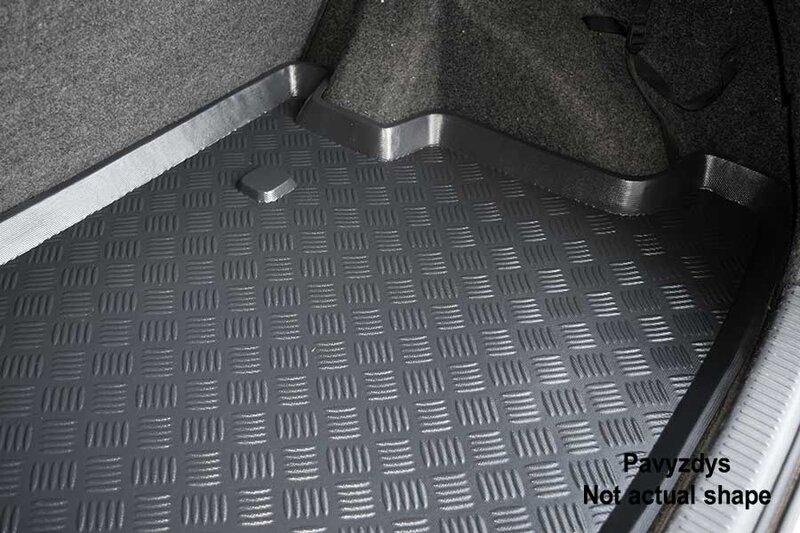 Bagažinės kilimėlis Volkswagen Caddy Life 2004-> /30013