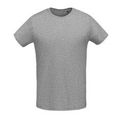 Klasikinio kirpimo marškinėliai vyrams apvalia iškirpte Martin Men kaina ir informacija | Vyriški marškinėliai | pigu.lt