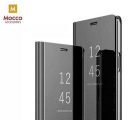 Mocco Clear View Cover Case For Huawei Nova 5T / Honor 20 Black kaina ir informacija | Telefono dėklai | pigu.lt
