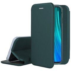 Book Elegance skirtas Xiaomi Redmi 7A, žalias kaina ir informacija | Telefono dėklai | pigu.lt