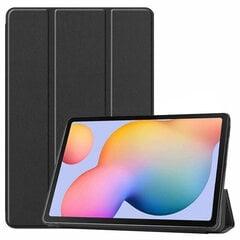 Dėklas Smart Leather Samsung T830 Tab S4 10.5 juodas kaina ir informacija | Telefono dėklai | pigu.lt