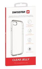 Swissten Clear Jelly Back Case 1.5 mm Silicone Case for Samsung A405 / A40 Transparent kaina ir informacija | Telefono dėklai | pigu.lt