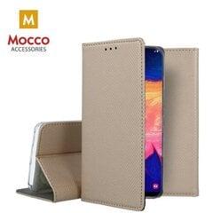Mocco Smart Magnet Book Case For LG K51S Gold kaina ir informacija | Telefono dėklai | pigu.lt