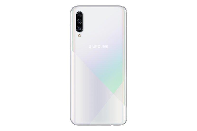 Samsung Galaxy A30s, 128GB, Dual SIM, white internetu