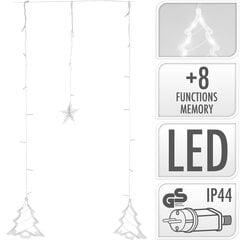 Kalėdinė girlianda, 138 LED 2 m šviečianti dalis kaina ir informacija | Kalėdinė girlianda, 138 LED 2 m šviečianti dalis | pigu.lt