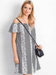 Suknelė moterims, balta, juoda kaina ir informacija | Suknelės | pigu.lt