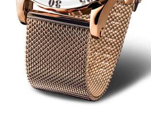 Laikrodžio apyrankė Vostok Europe 20 mm-rose-gold-Br-Mesh, auksinė цена и информация | Мужские часы | pigu.lt