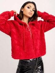 Džemperis raudonas kaina ir informacija | Džemperiai moterims | pigu.lt