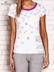 Marškinėliai moterims, balti kaina ir informacija | Marškinėliai moterims | pigu.lt