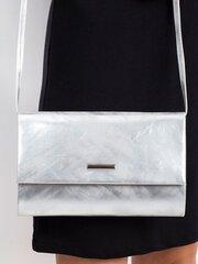 Женская сумка, серебристого цвета цена и информация | Женские сумки | pigu.lt