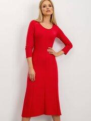 Suknelė moterims, raudona kaina ir informacija | Suknelės | pigu.lt