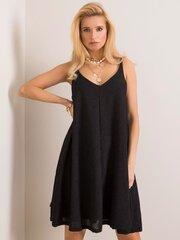 Suknelė moterims, juoda kaina ir informacija | Suknelės | pigu.lt