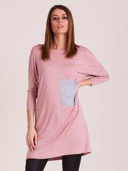 Tunika moterims, rožinė kaina ir informacija | Tunikos | pigu.lt
