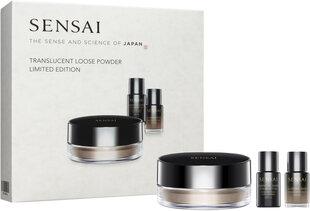 Veido kosmetikos rinkinys Kanebo Sensai Translucent Loose Powder Limited Edition: biri pudra, 20 g + makiažo pagrindas, 2 ml + makiažo bazė, 2 ml kaina ir informacija | Makiažo pagrindai, pudros | pigu.lt