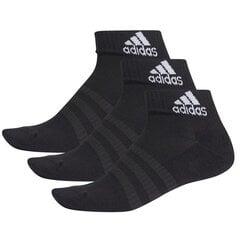 Kojinės Adidas Cush Ank 3PP DZ9379, juodos kaina ir informacija | Vyriškos kojinės | pigu.lt