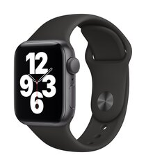 Išmanusis laikrodis Apple Watch SE (GPS, 40 mm) - Space Gray Aluminum Case with Black Sport Band kaina ir informacija | Išmanusis laikrodis Apple Watch SE (GPS, 40 mm) - Space Gray Aluminum Case with Black Sport Band | pigu.lt