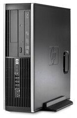 HP 8100 Elite SFF i7-870 8 GB 120 GB SSD 2 TB HDD GTX1650 4 GB Windows 7 Professional kaina ir informacija | Stacionarūs kompiuteriai | pigu.lt