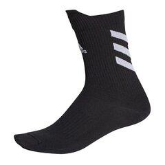Sportinės kojinės vyrams Adidas Alphaskin Crew Ultralight M FS9763, juodos kaina ir informacija | Vyriškos kojinės | pigu.lt