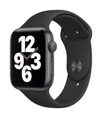 Išmanusis laikrodis Apple Watch SE (GPS, 44 mm) - Space Gray Aluminium Case with Black Sport Band kaina ir informacija | Išmanusis laikrodis Apple Watch SE (GPS, 44 mm) - Space Gray Aluminium Case with Black Sport Band | pigu.lt