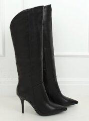 Ilgaauliai batai moterims kaina ir informacija | Aulinukai, ilgaauliai batai moterims | pigu.lt
