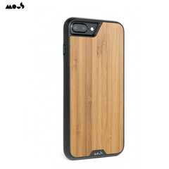 Mous Air-Shock Extreeme Protection Back Cover Case for iPhone 6+ 6s+ 7+ 8+ with real Bamboo element kaina ir informacija | Telefono dėklai | pigu.lt
