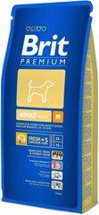 Brit Premium vidutinio dydžio suaugusiems šunims, 15 kg