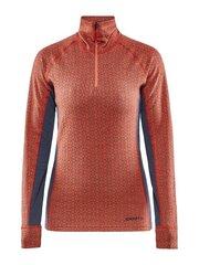 Termo marškinėliai moterims Craft Merino 240 Zip trace-asphalt kaina ir informacija | Termo apatiniai moterims | pigu.lt