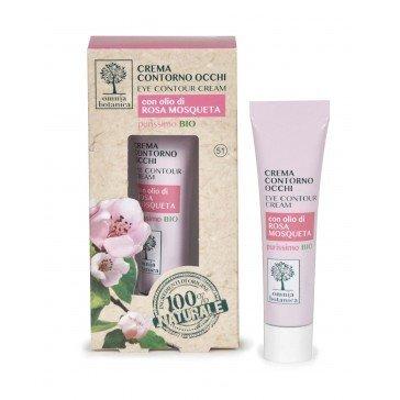 Paakių kremas su rožių aliejumi Omnia Botanica 15 ml kaina ir informacija | Kremai, serumai paakiams | pigu.lt