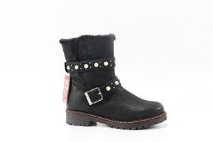 S.OLIVER odiniai aulinukai, juodi kaina ir informacija | Aulinukai, ilgaauliai batai moterims | pigu.lt