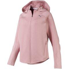 Laisvalaikio bliuzonas moterims Puma EVOSTRIPE FZ Hoody 58006014, rožinis kaina ir informacija | Džemperiai moterims | pigu.lt