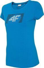 Sportiniai marškinėliai moterims 4F H4Z20 TSD016 kaina ir informacija | Sportinė apranga moterims | pigu.lt