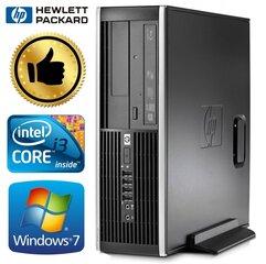 HP 8100 Elite SFF i3-550 8GB 240SSD+320GB GT1030 2GB DVD WIN7Pro kaina ir informacija | Stacionarūs kompiuteriai | pigu.lt