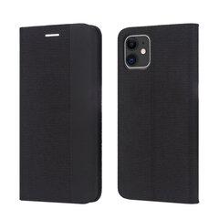 Dėklas Smart Senso Huawei P Smart 2019/Honor 10 Lite juodas kaina ir informacija | Telefono dėklai | pigu.lt