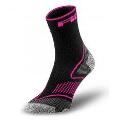 Sportinės kojinės su merino vilna R2 Challenge, pink kaina ir informacija | Moteriškos kojinės | pigu.lt